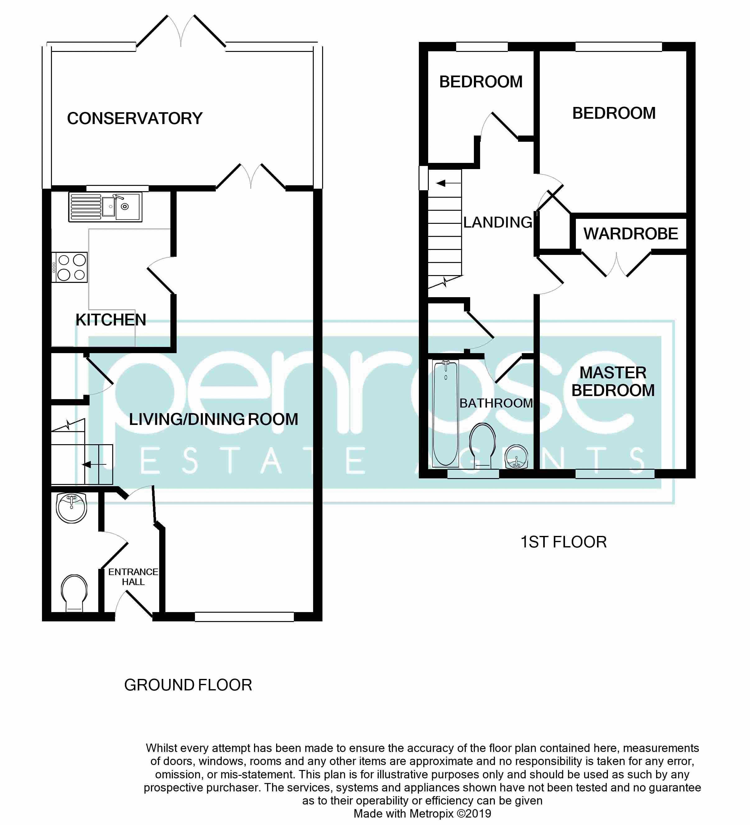 3 bedroom Mid Terrace to buy in Cromer Way, Luton