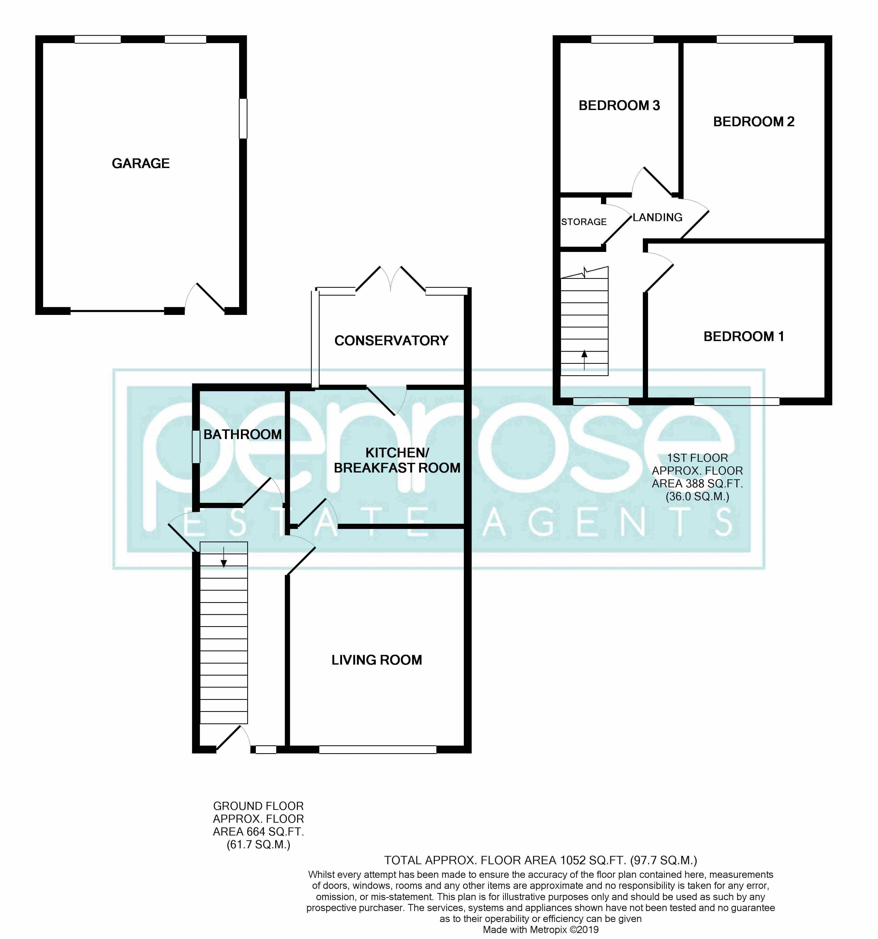 3 bedroom  to buy in Fermor Crescent, Luton