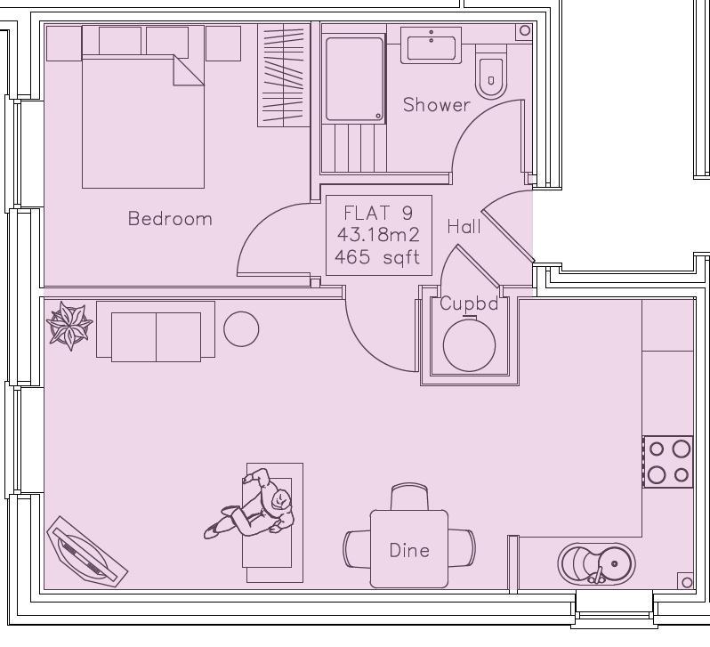 1 bedroom  to buy in London Road, Luton