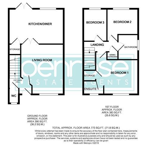 3 bedroom  to buy in Lorimer Close, Luton