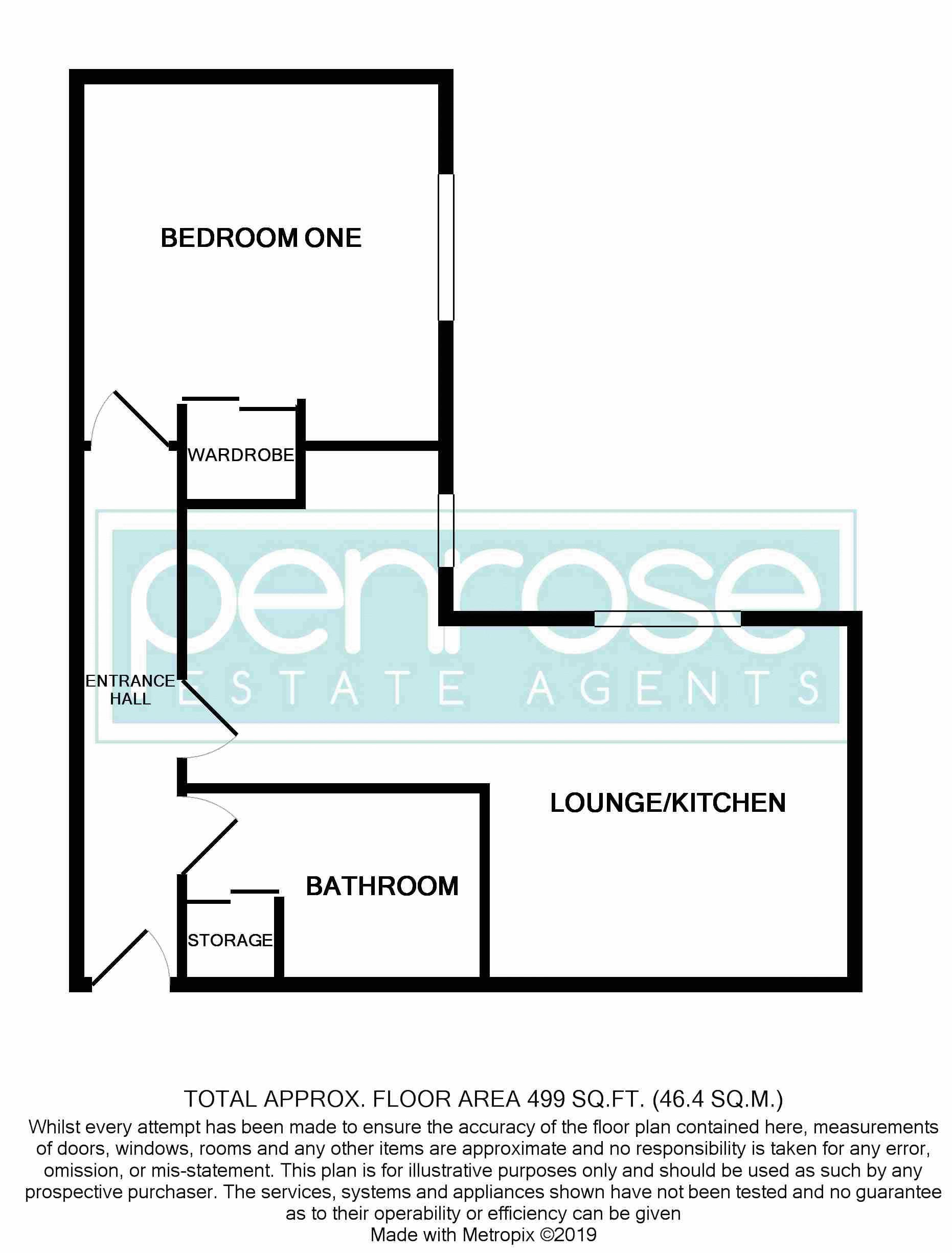 1 bedroom Flat to rent in Earls Meade, Luton 32 Barons Court