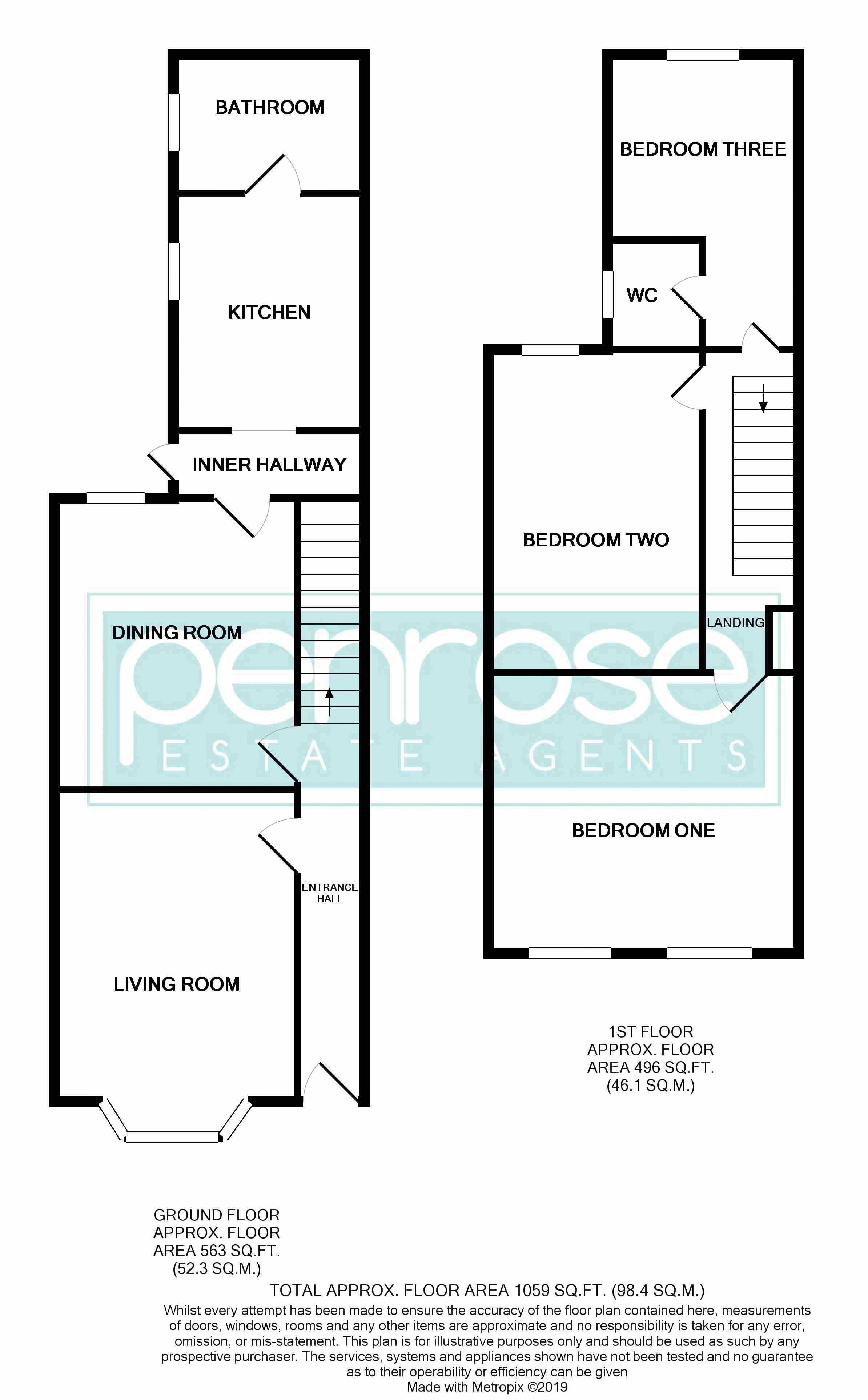 3 bedroom Mid Terrace to buy in Tennyson Road, Luton 61 Tennyson Road