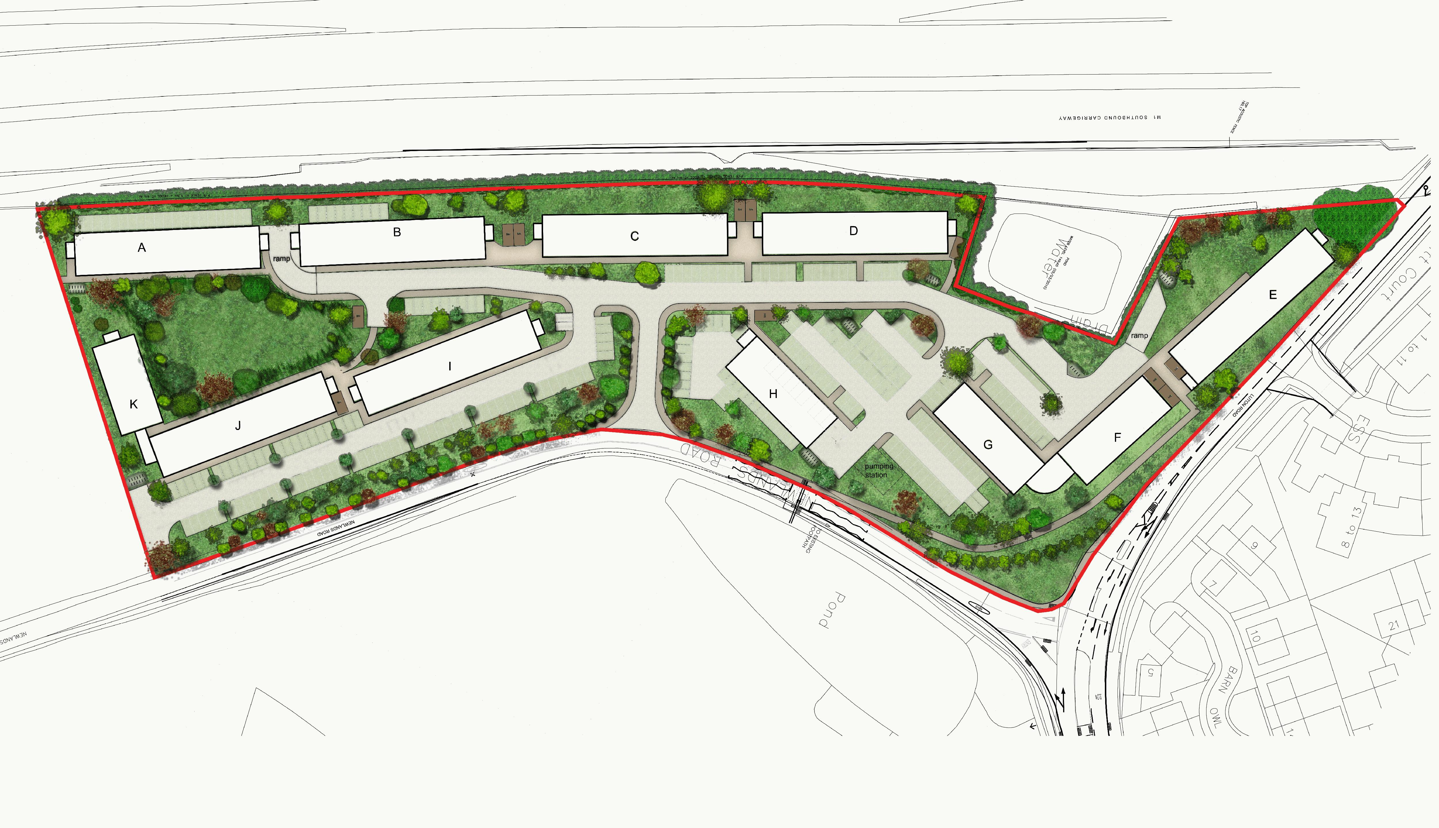 1 bedroom Apartment / Studio to buy in Stockwood Gardens, Newlands Road, Luton