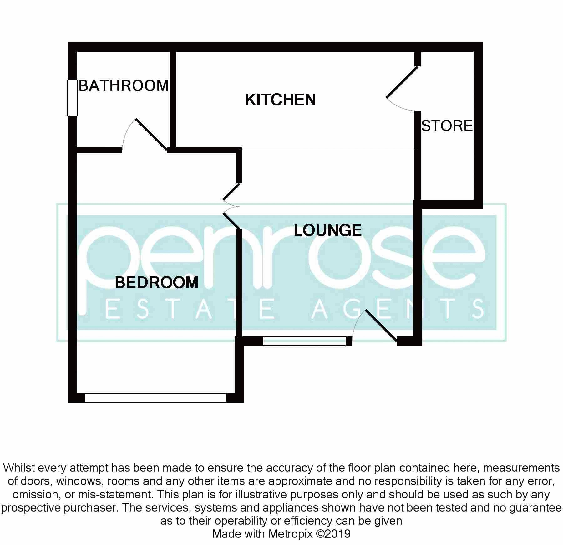 1 bedroom Maisonette to buy in Farley Hill, Luton Floorplan