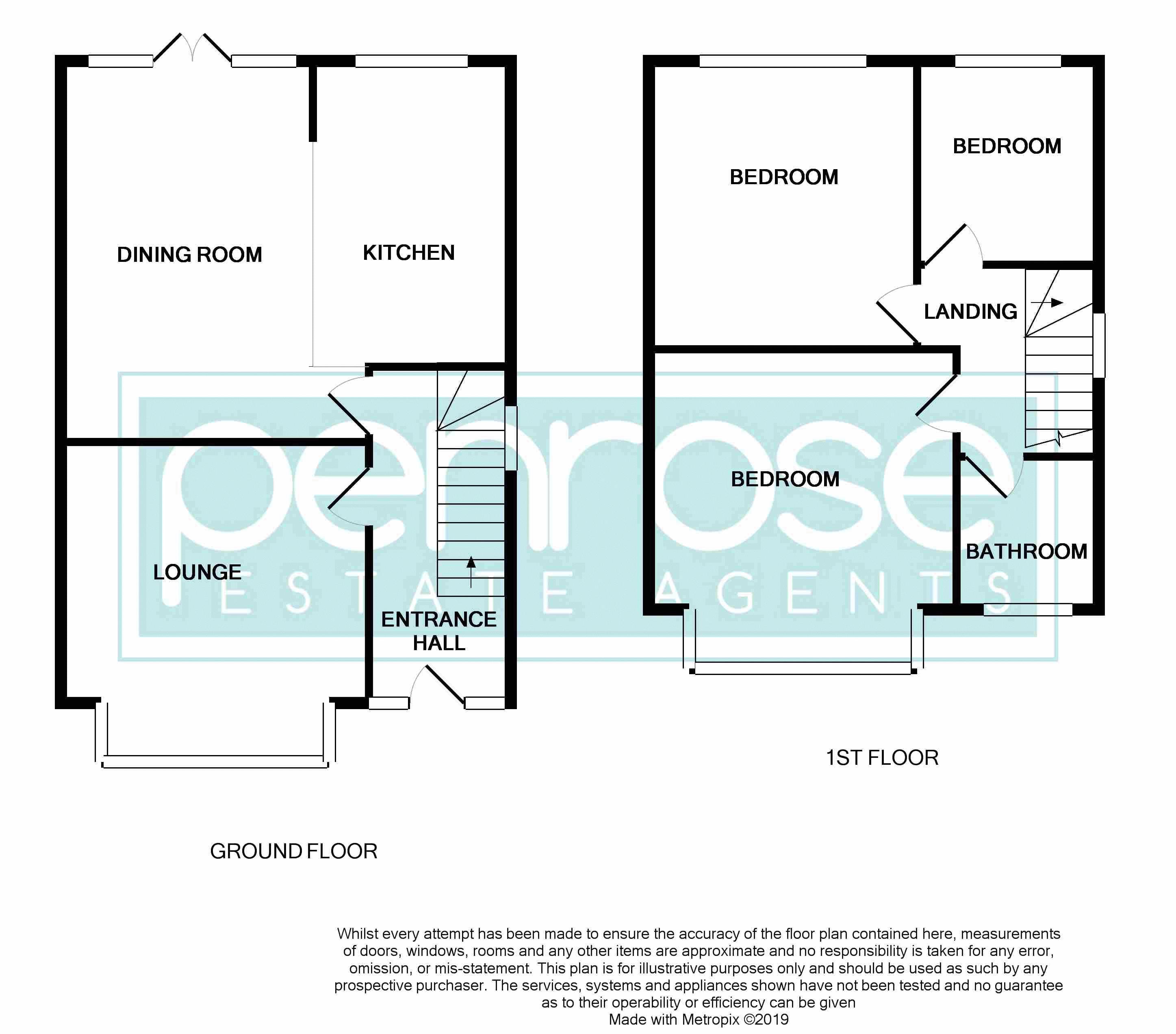 3 bedroom Detached  to buy in Gardenia Avenue, Luton Floorplan