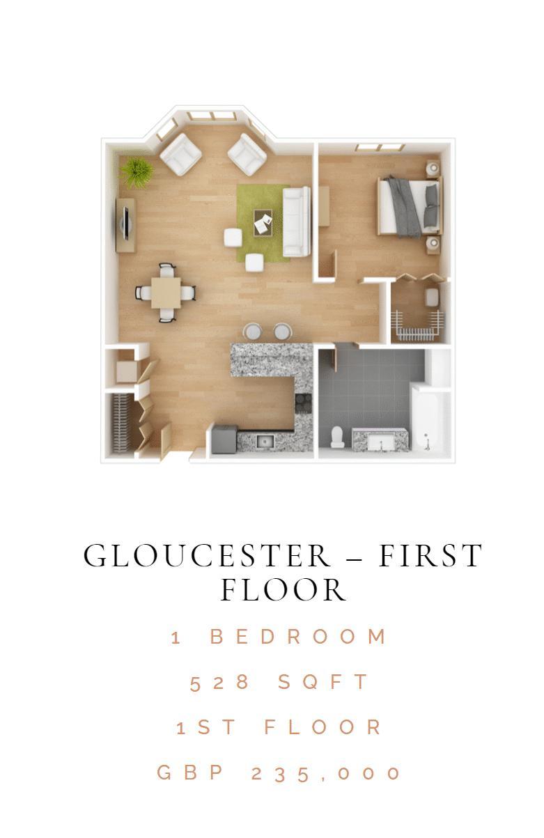 1 bedroom  to buy in 46 London Road, Luton