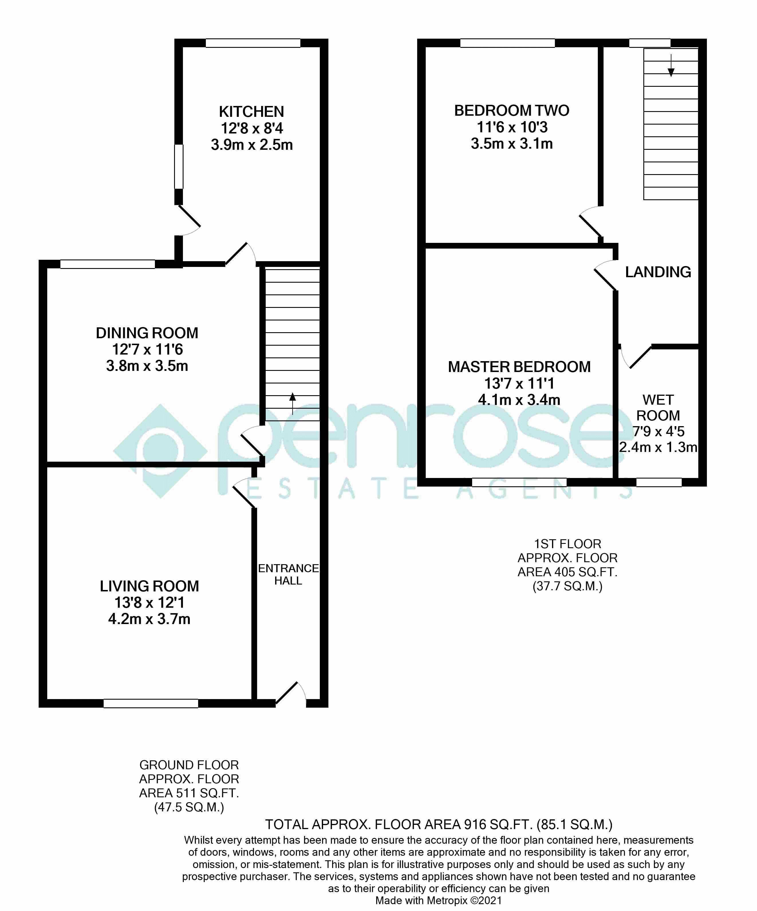 2 bedroom Mid Terrace to buy in St. Augustine Avenue, Luton