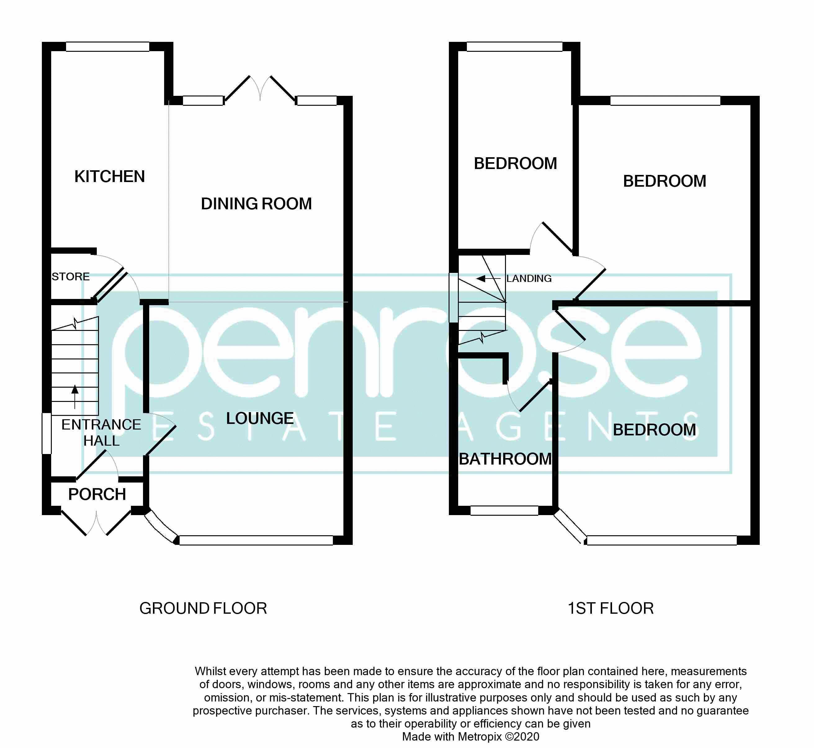 3 bedroom End Terrace to buy in Somerset Avenue, Luton Floorplan