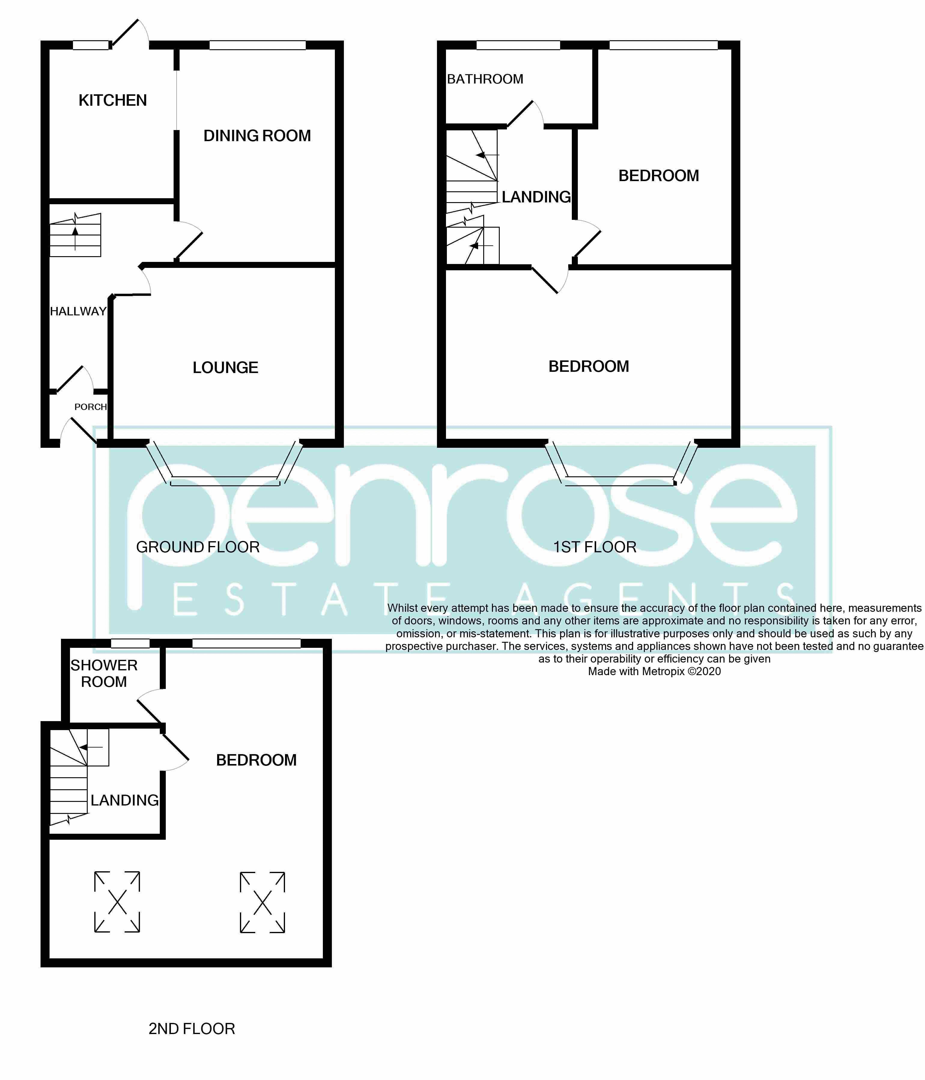 3 bedroom End Terrace to buy in Kingston Road, Luton Floorplan