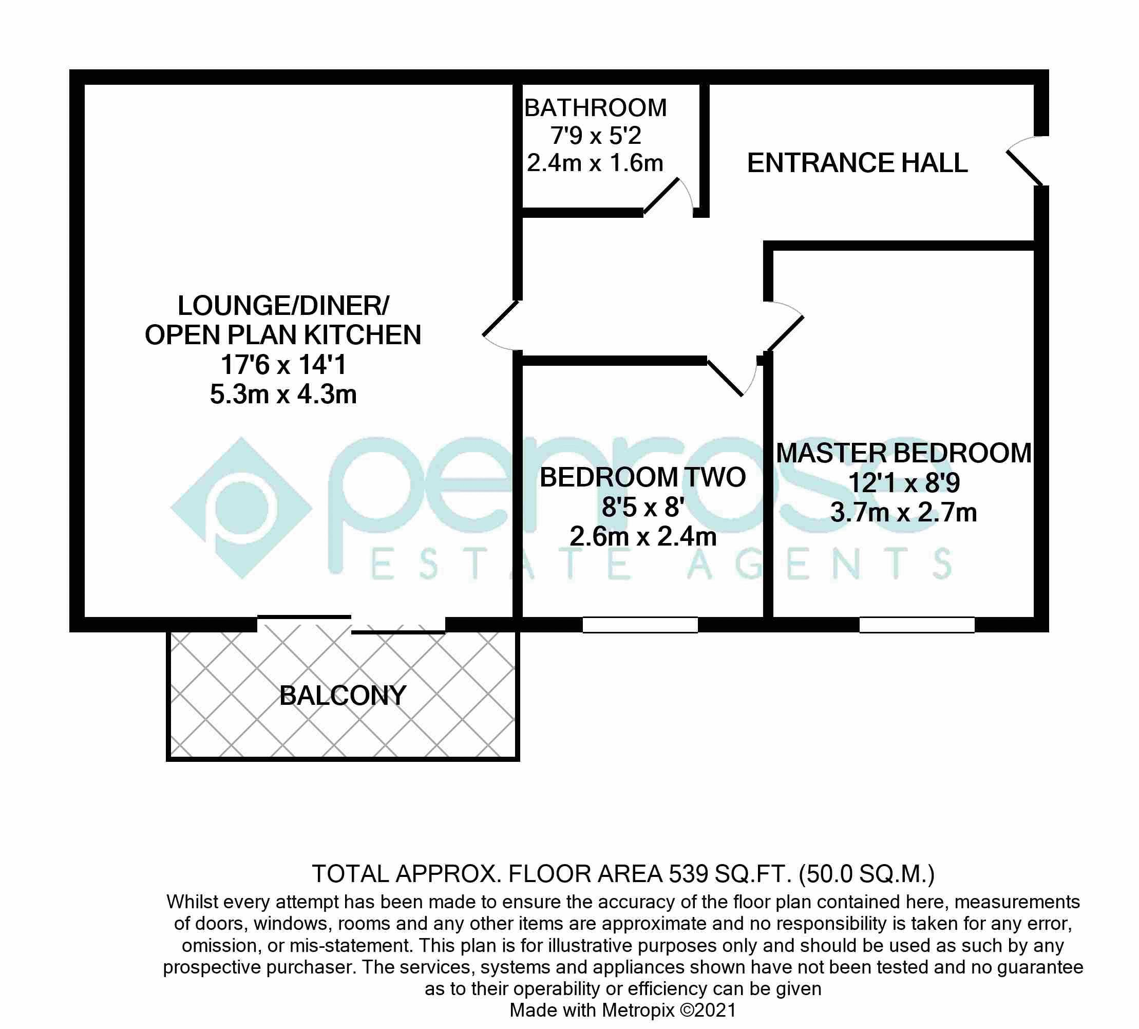 2 bedroom Flat to buy in Foxglove Way, Luton