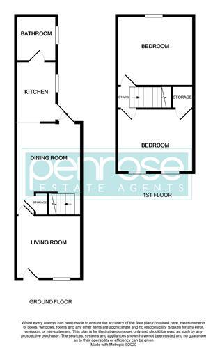 2 bedroom Mid Terrace to rent in North Street, Luton