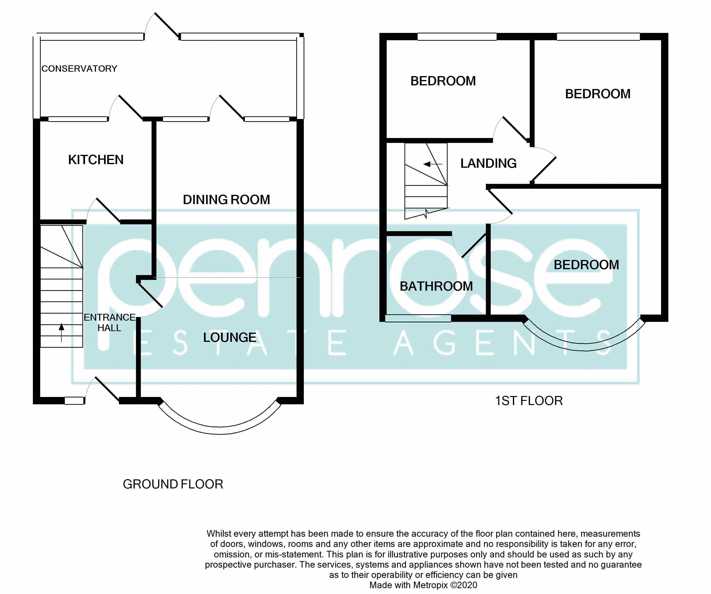 3 bedroom Mid Terrace to buy in Browning Road, Luton Floorplan