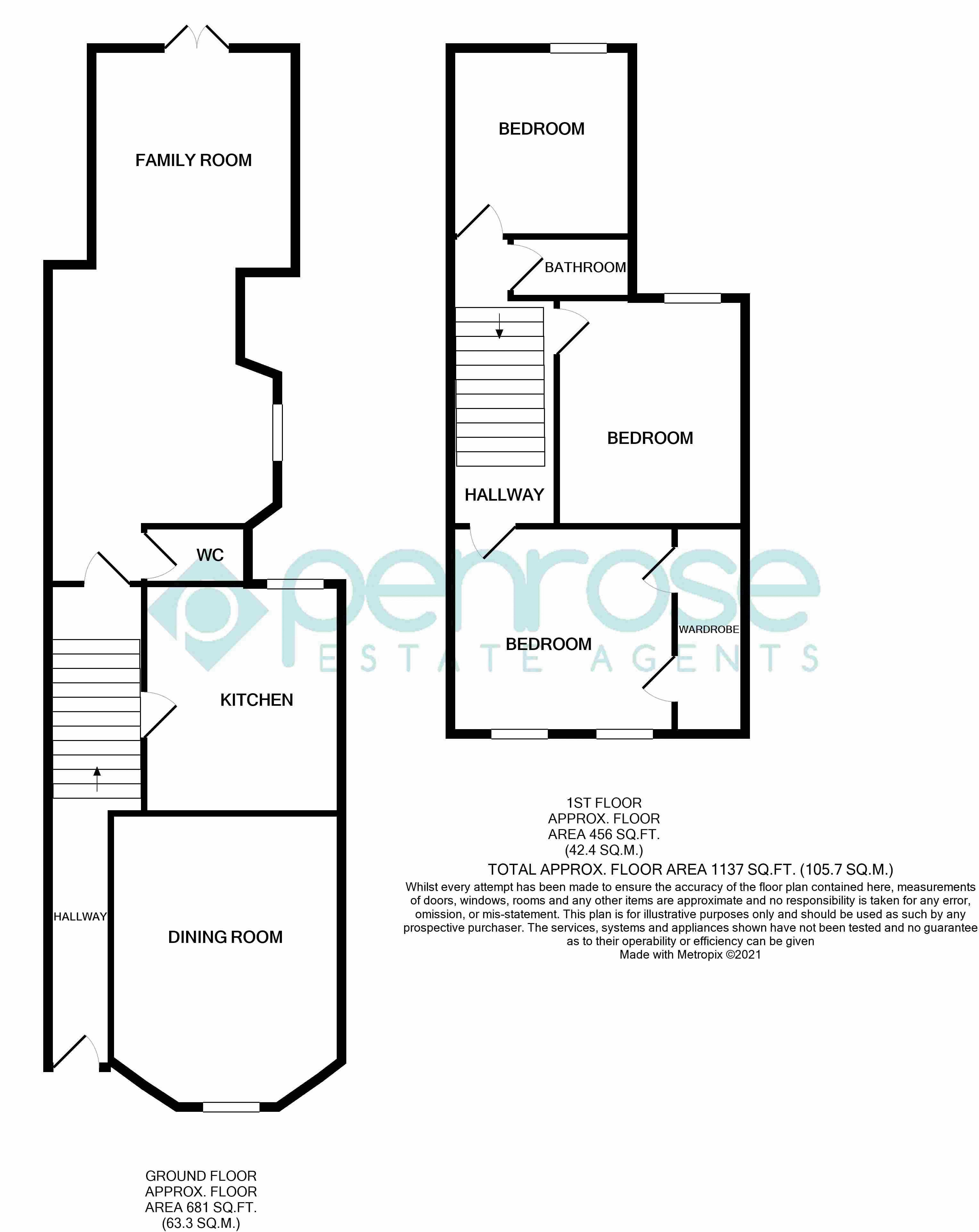 3 bedroom Semi-Detached  to rent in Havelock Road, Luton
