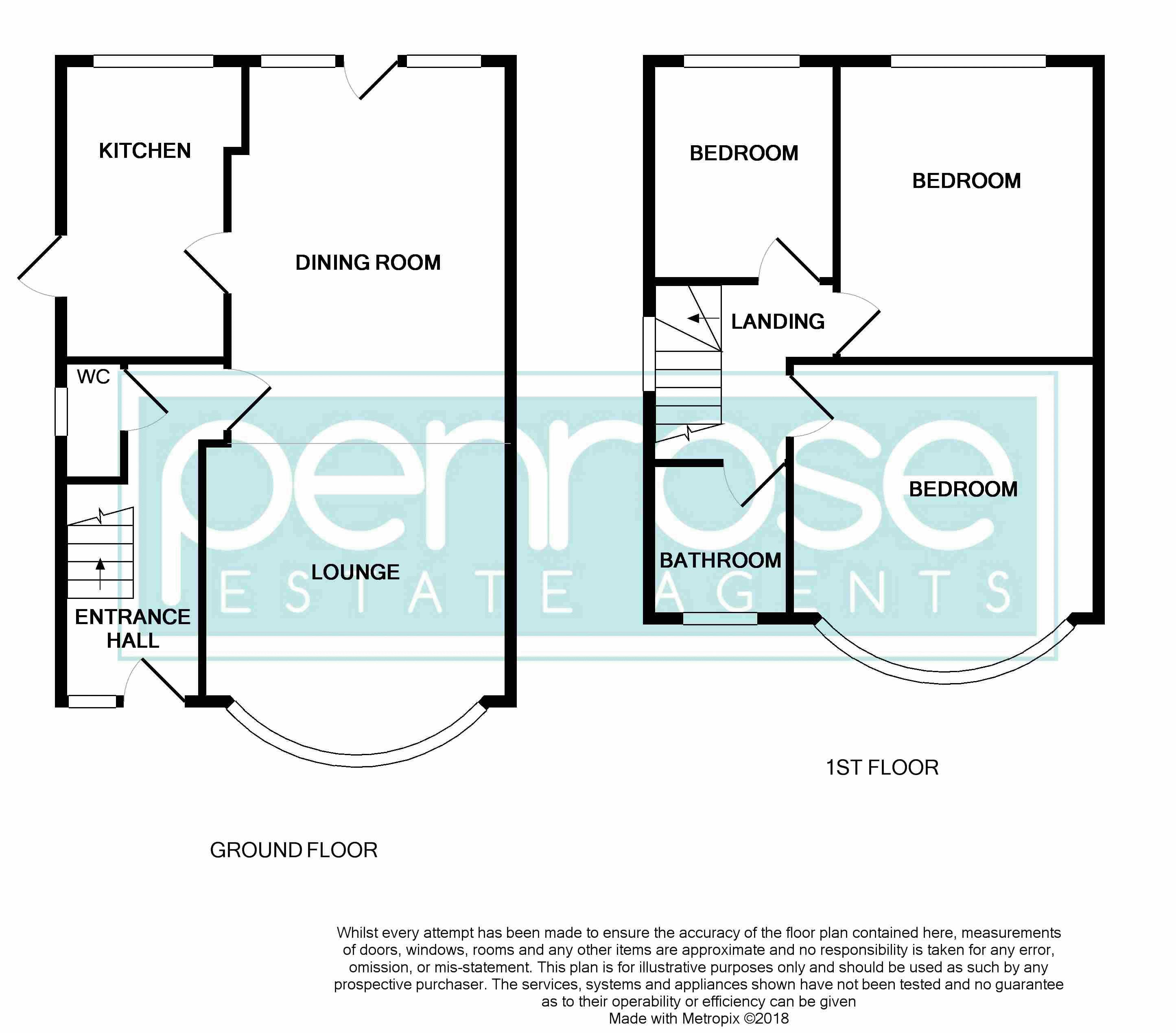 3 bedroom Semi-Detached  to buy in Wardown Crescent, Luton Floorplan