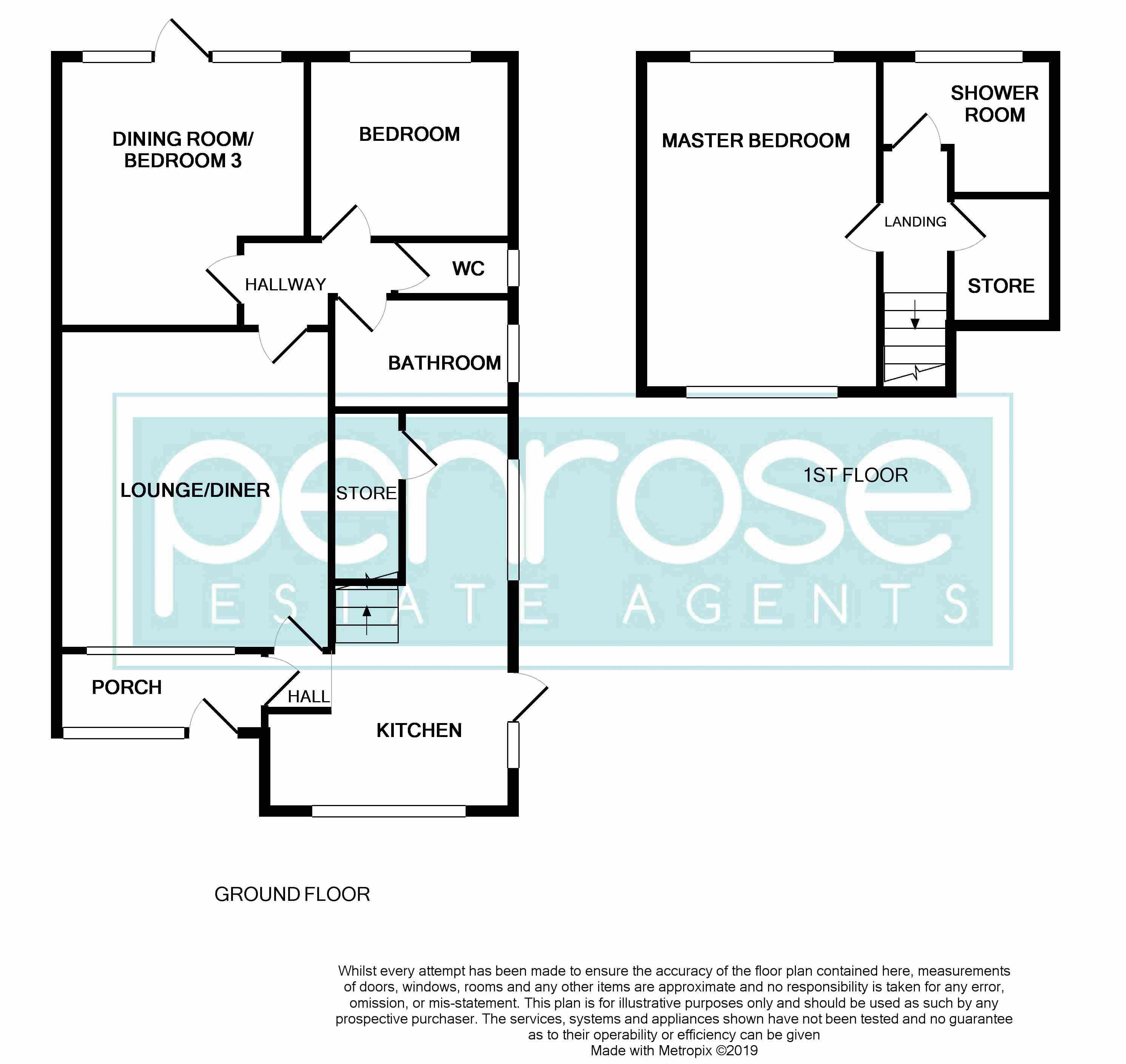 2 bedroom Bungalow to buy in Gooseberry Hill, Luton Floorplan