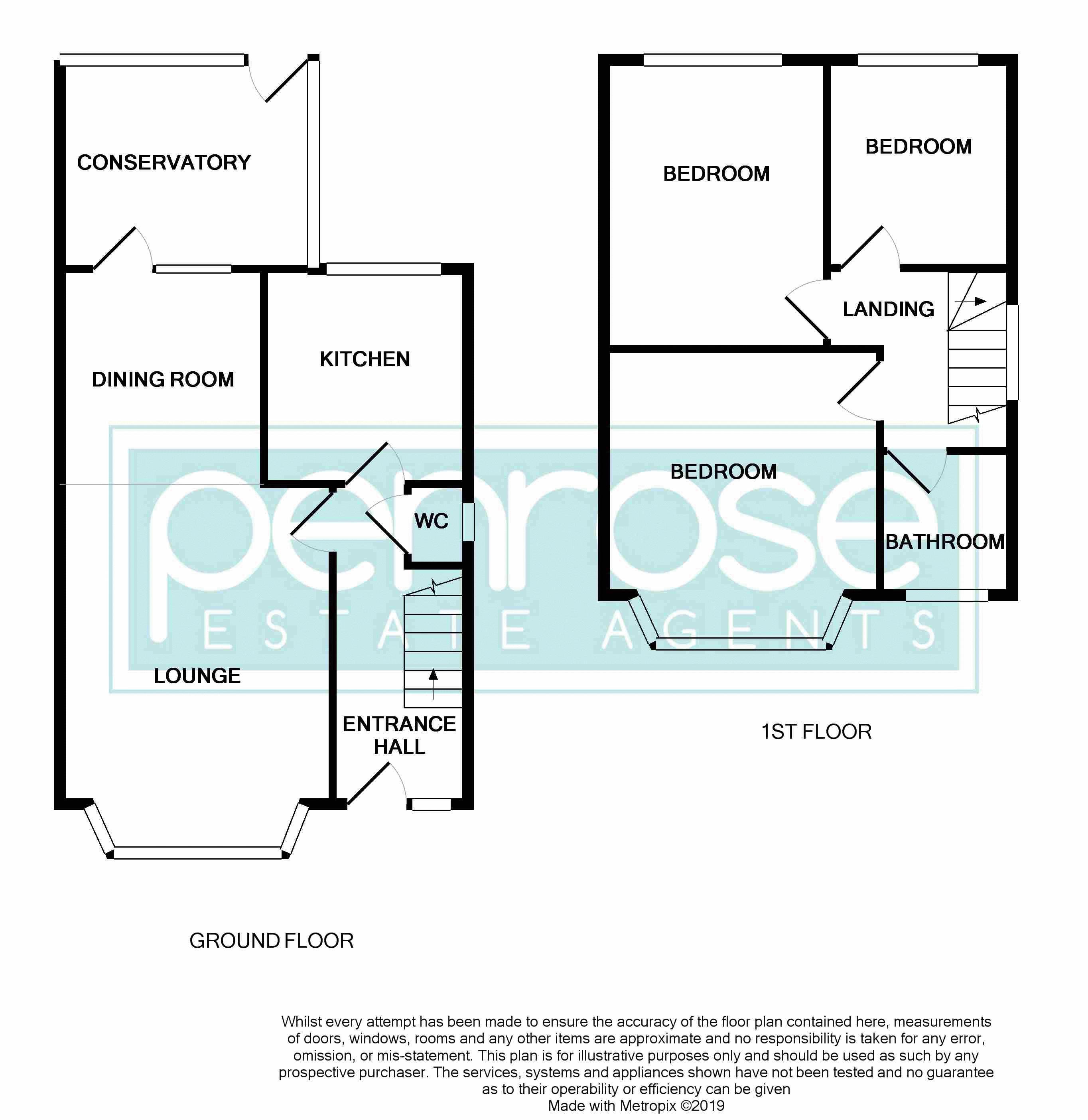 3 bedroom Semi-Detached  to buy in Devon Road, Luton Floorplan