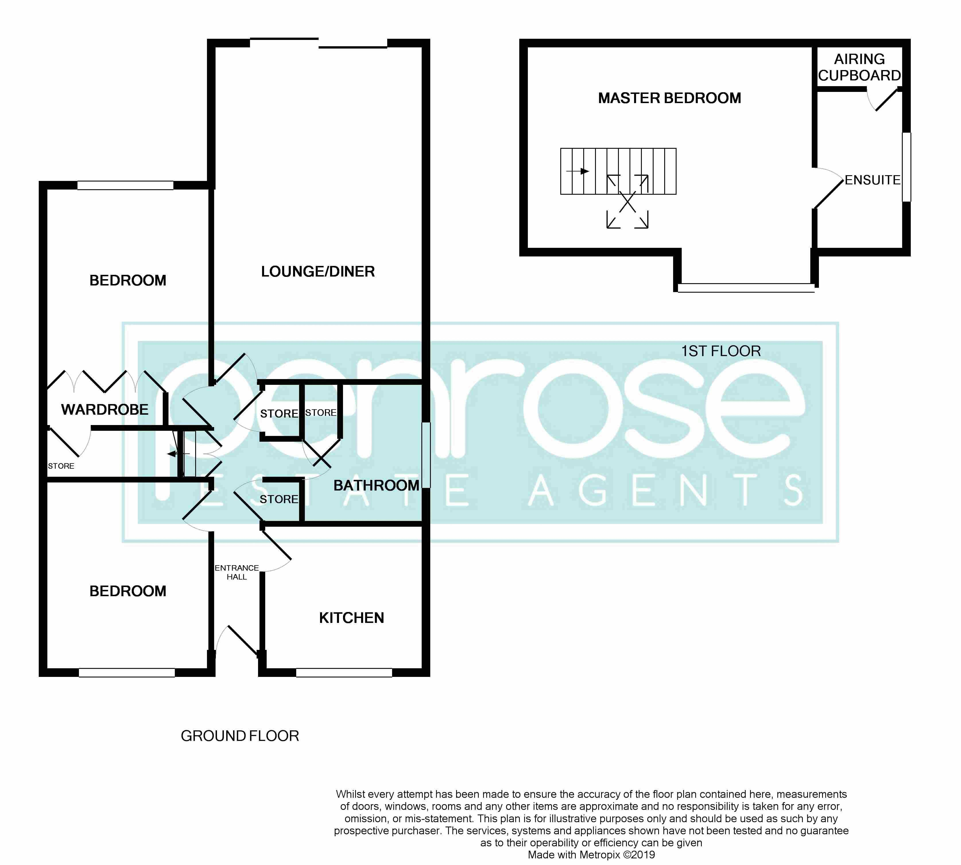 3 bedroom Semi-Detached  to buy in Saywell Road, Luton Floorplan