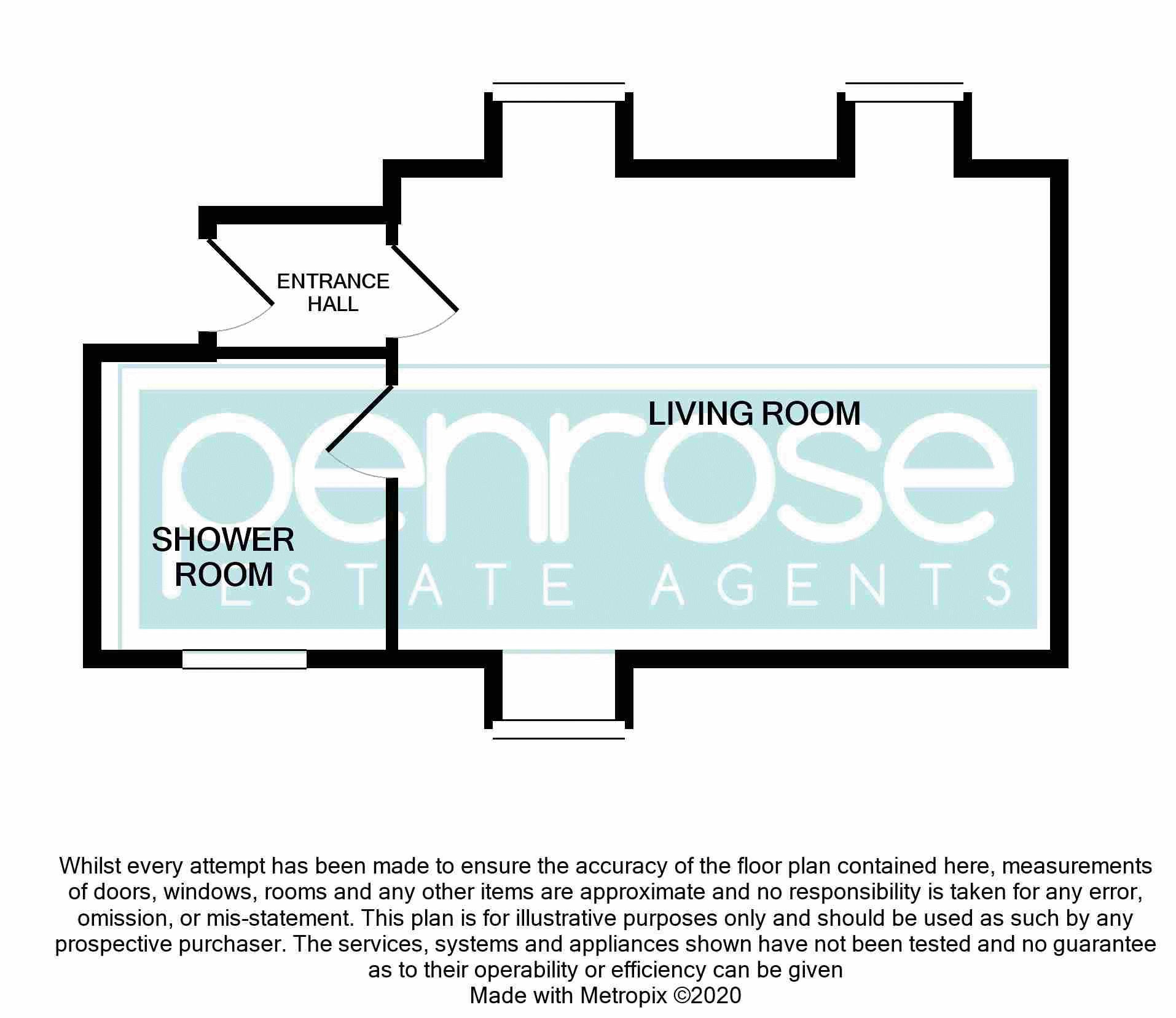1 bedroom Flat to buy in 2B Downs Road, Luton Floorplan