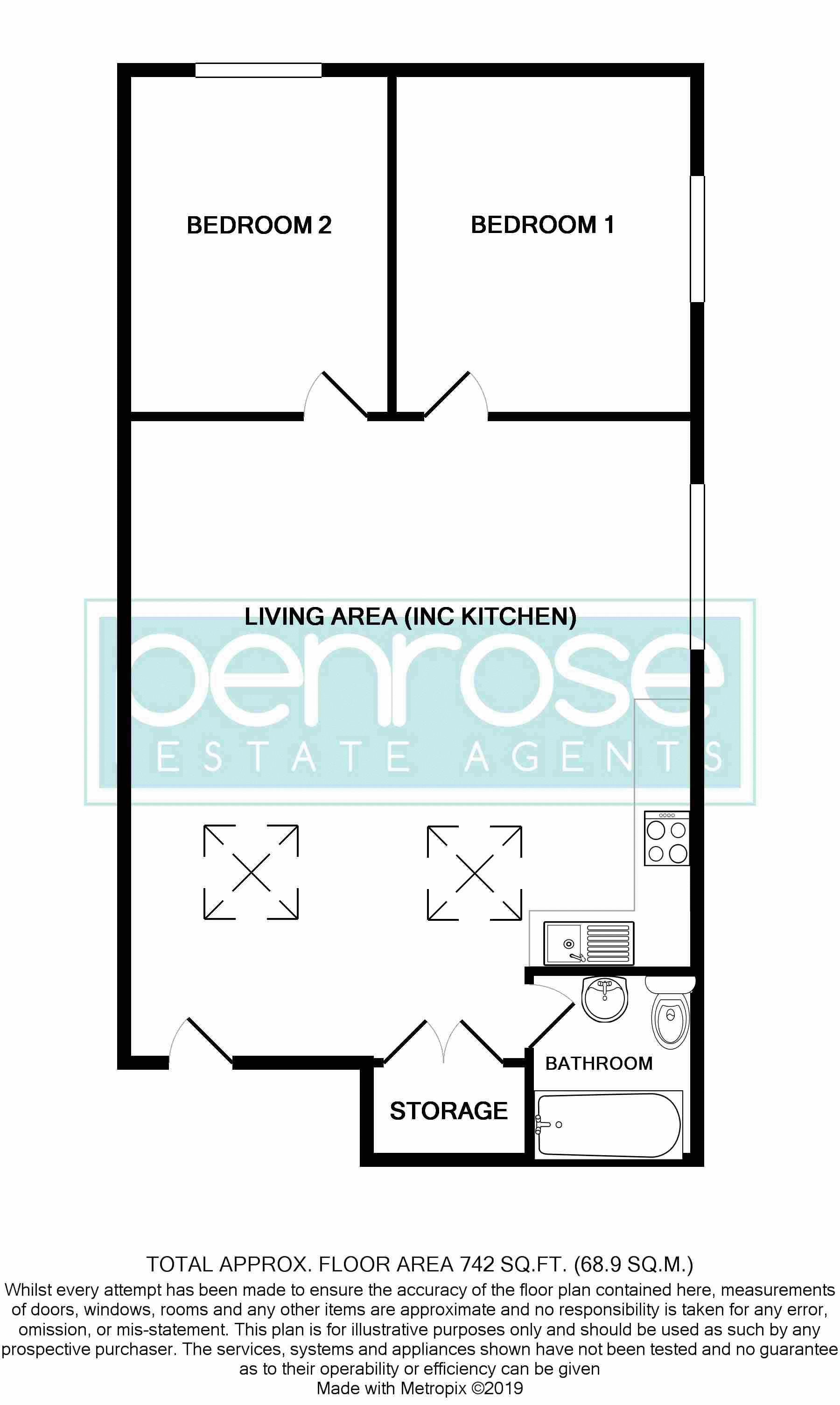 2 bedroom Apartment / Studio to buy in Guildford Street, Luton
