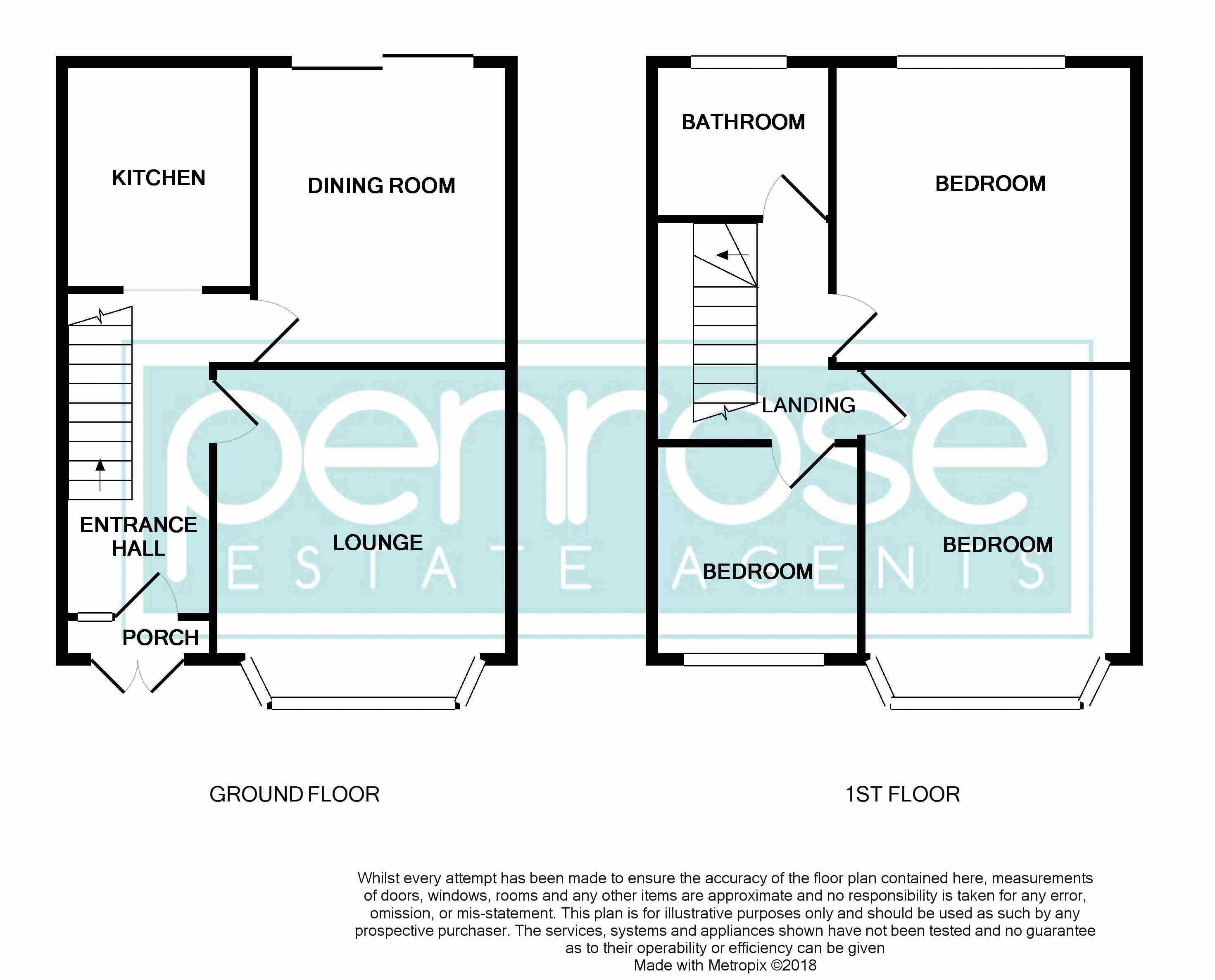 3 bedroom Mid Terrace to buy in St. Lawrence Avenue, Luton Floorplan