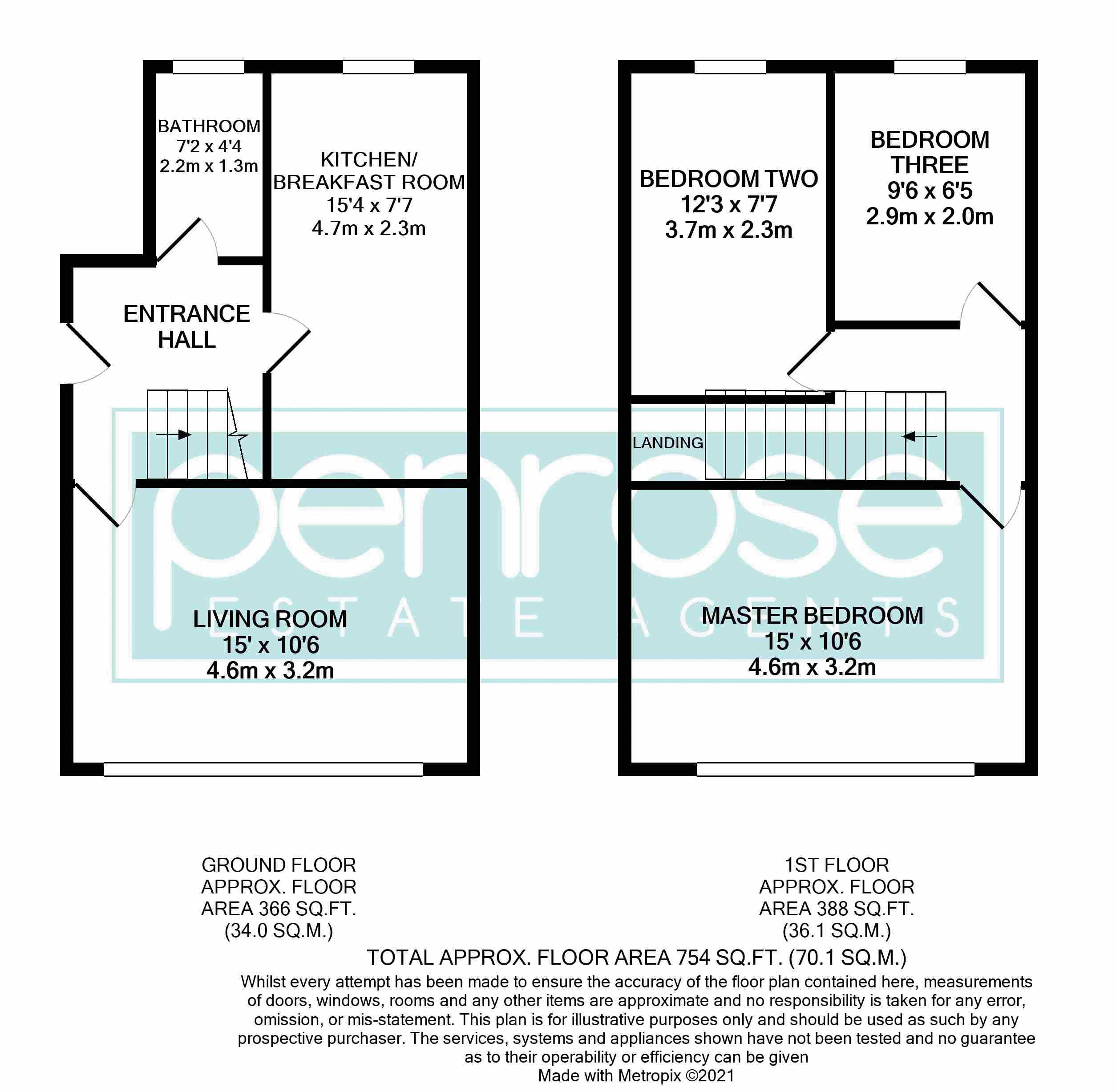 3 bedroom Maisonette to buy in Green Gates, Luton