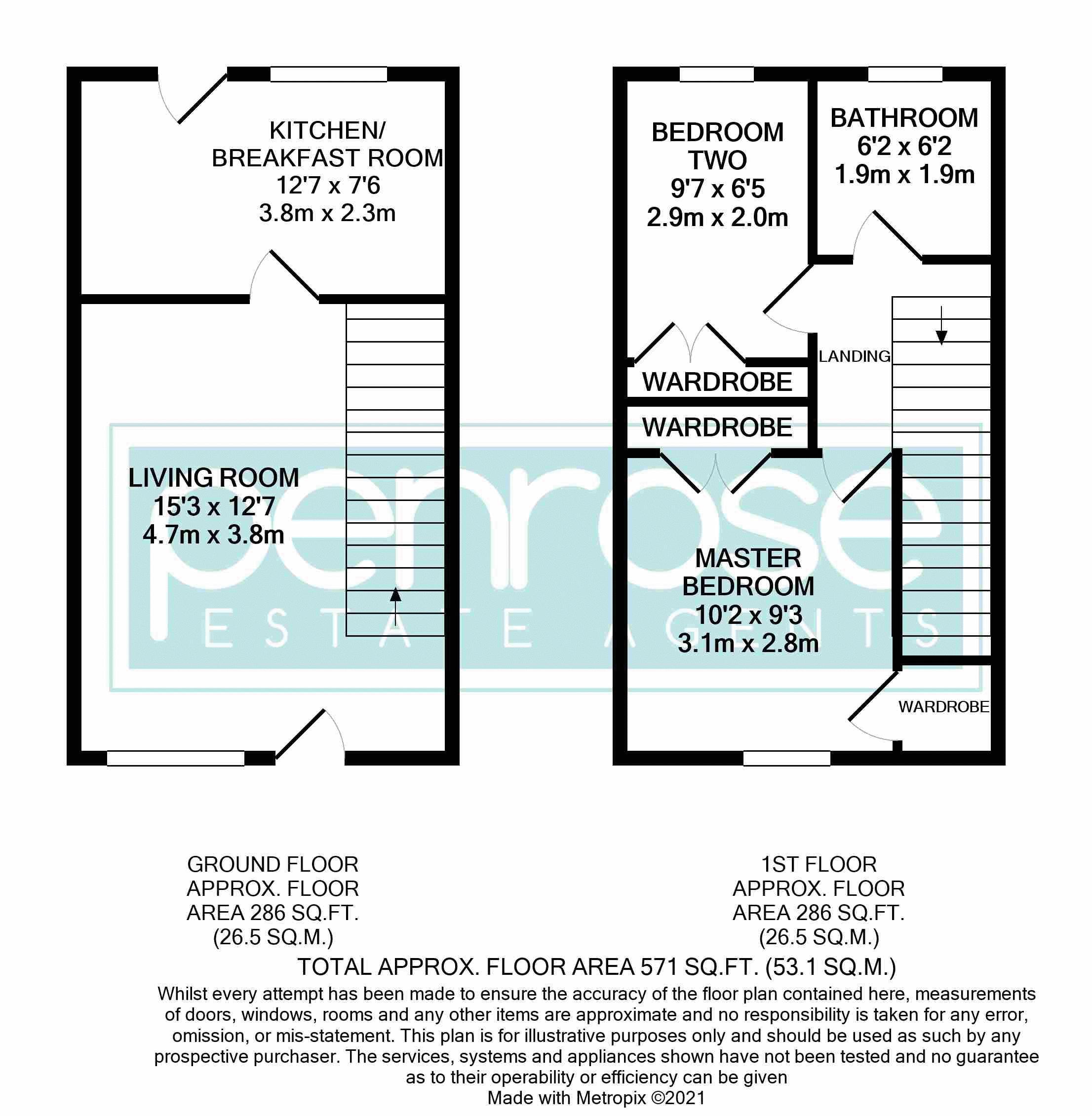 2 bedroom Mid Terrace to buy in Gleneagles Drive, Luton