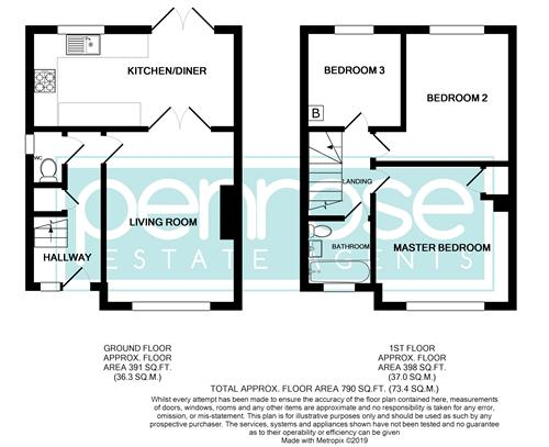 3 bedroom Semi-Detached  to buy in Kynance Close, Luton