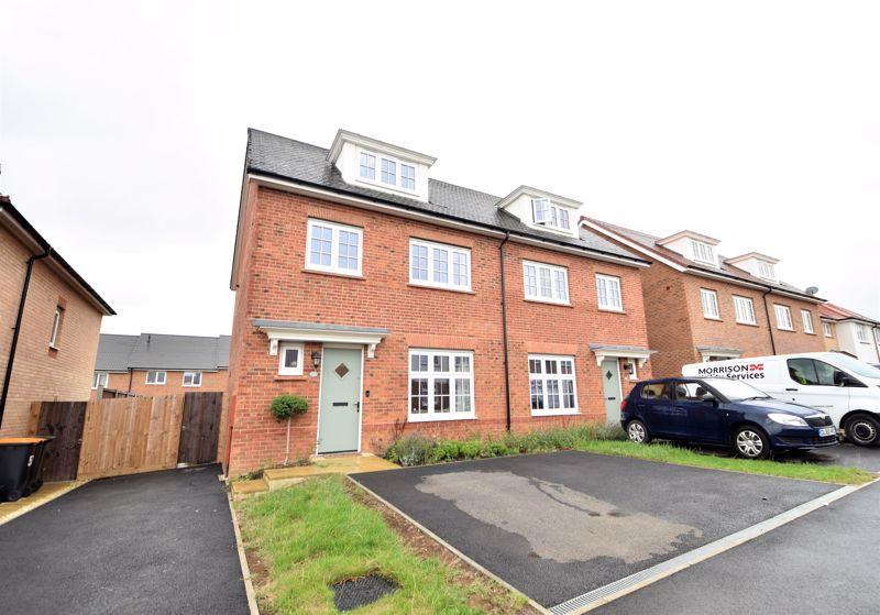 4 bedroom Semi-Detached  to buy in Mallard Crescent, Luton