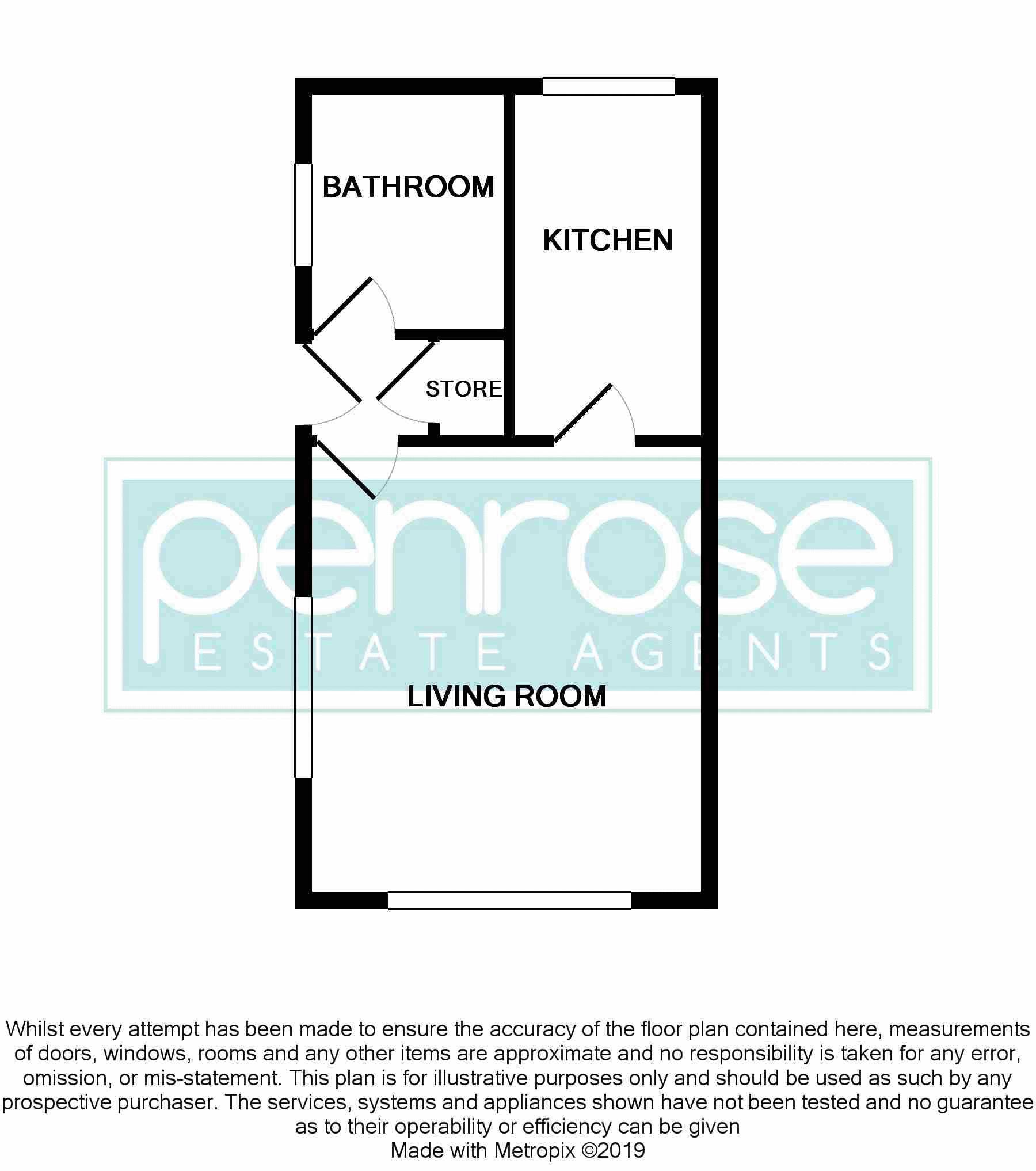 0 bedroom Maisonette to buy in Bunting Road, Luton Floorplan
