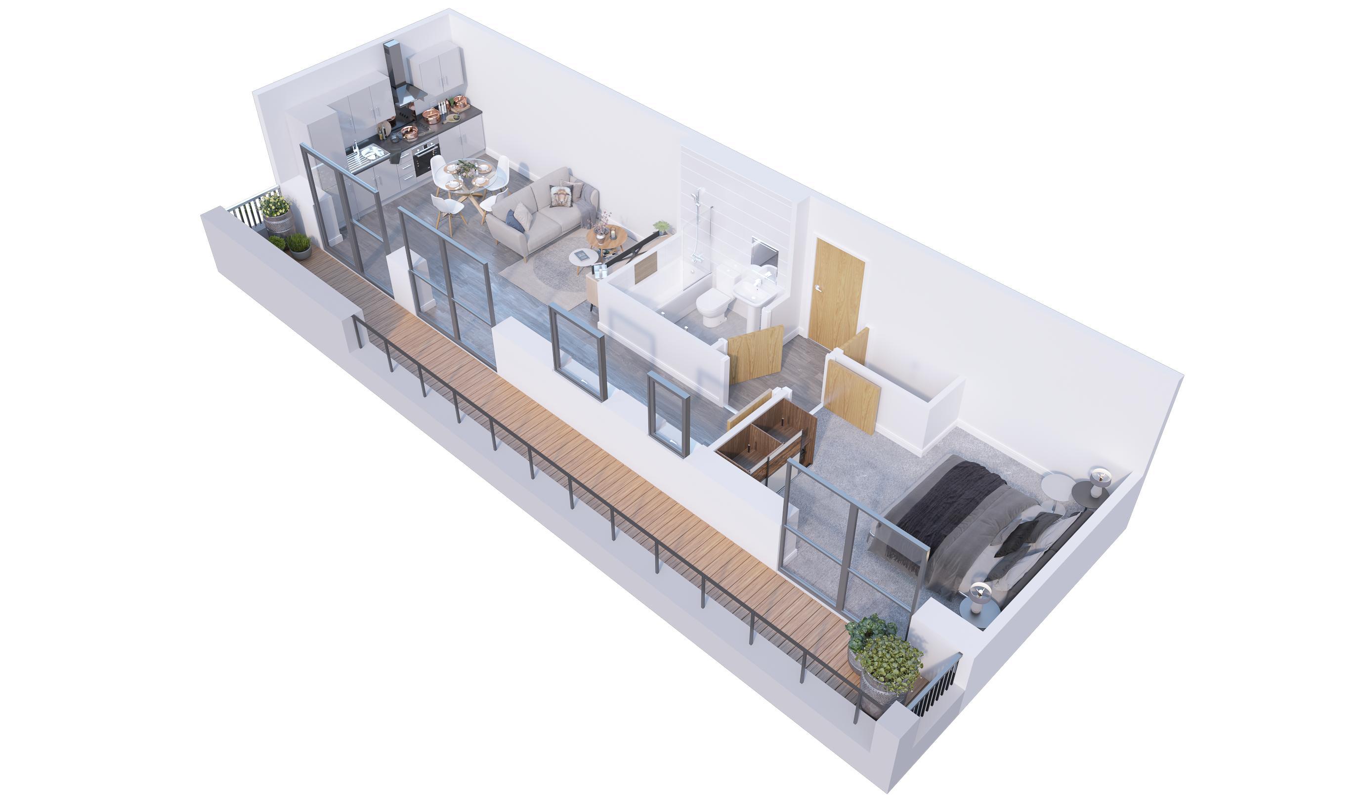 1 bedroom  to buy in Stockwood Gardens, Newlands Road, Luton