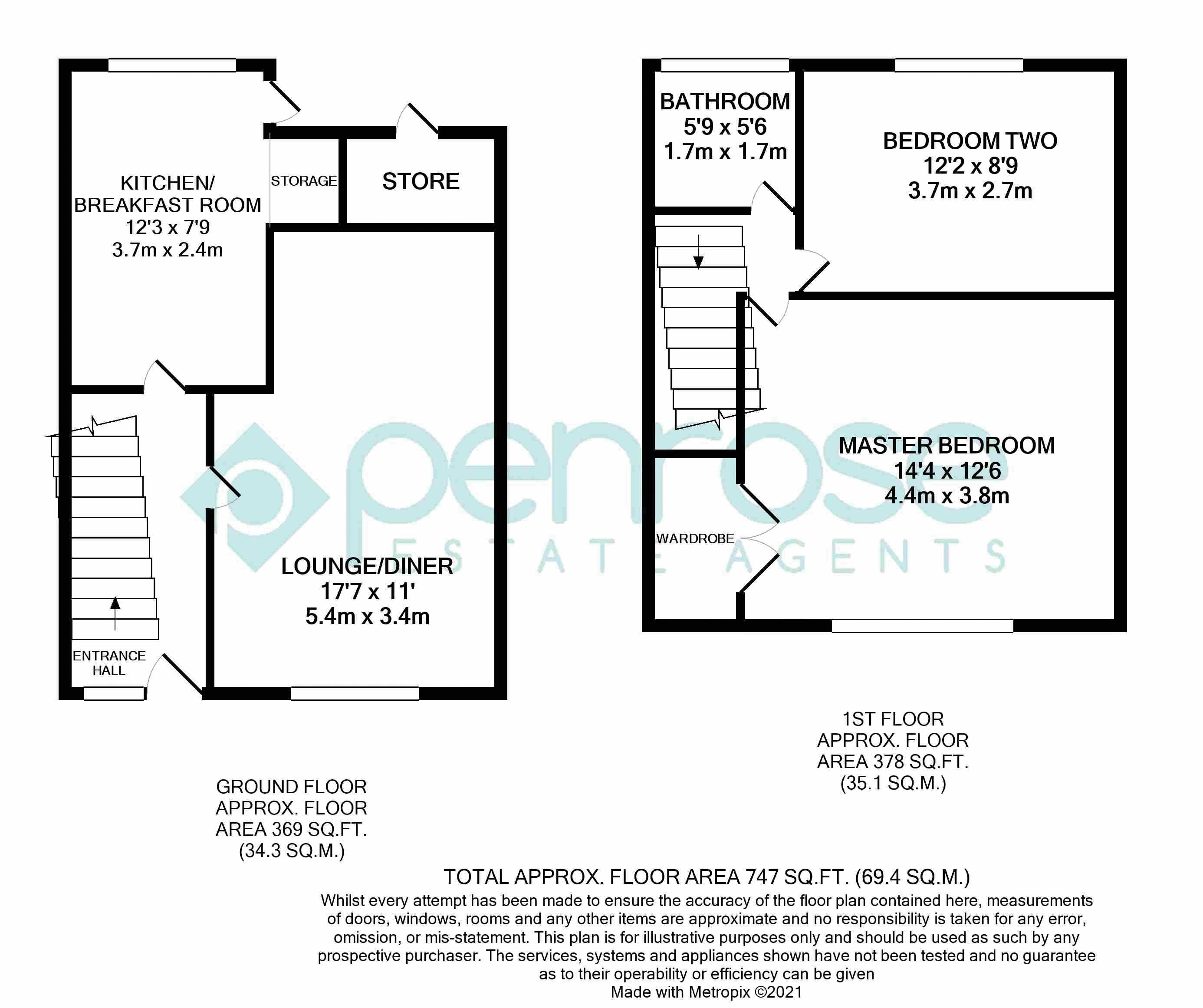 2 bedroom End Terrace to buy in Maryport Road, Luton
