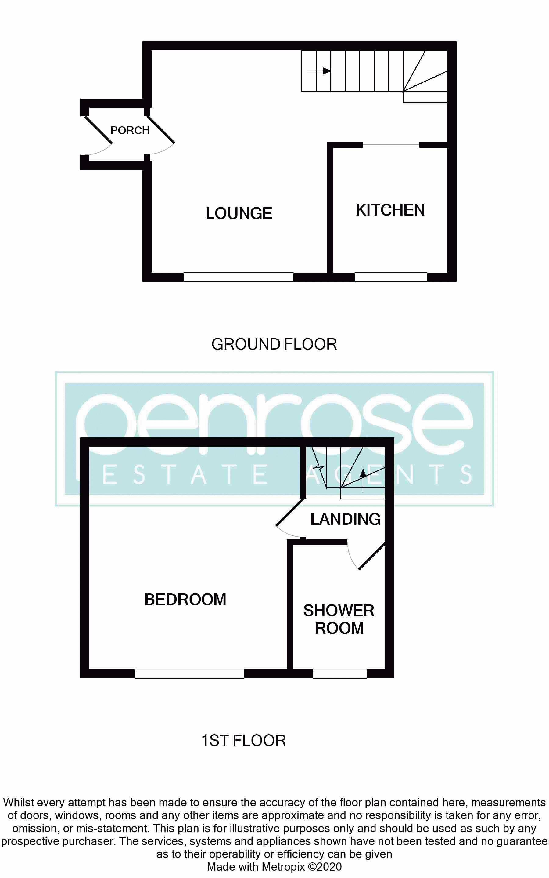 1 bedroom End Terrace to buy in Laxton Close, Luton Floorplan