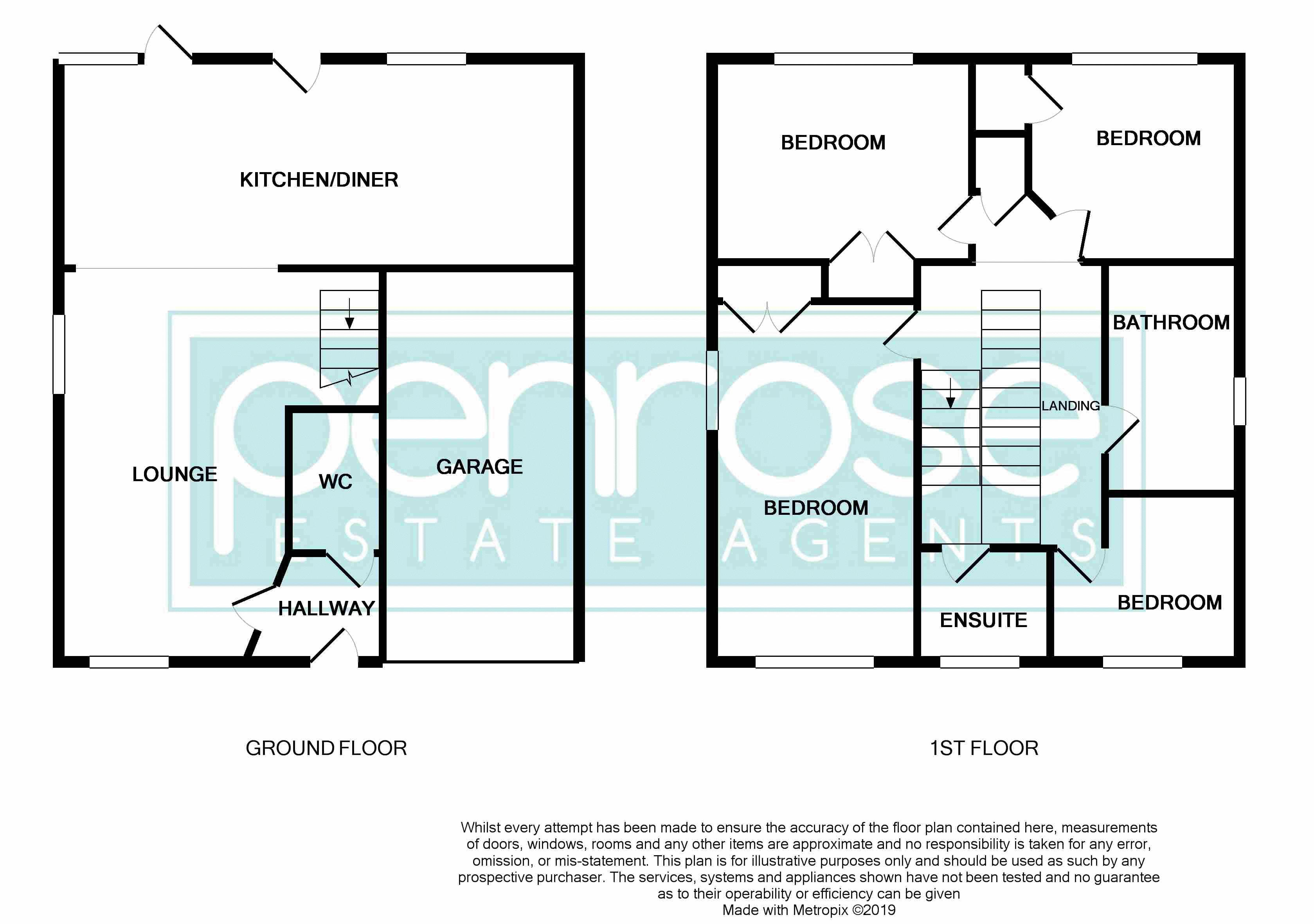 4 bedroom Detached  to buy in Fieldstone, Dunstable Floorplan