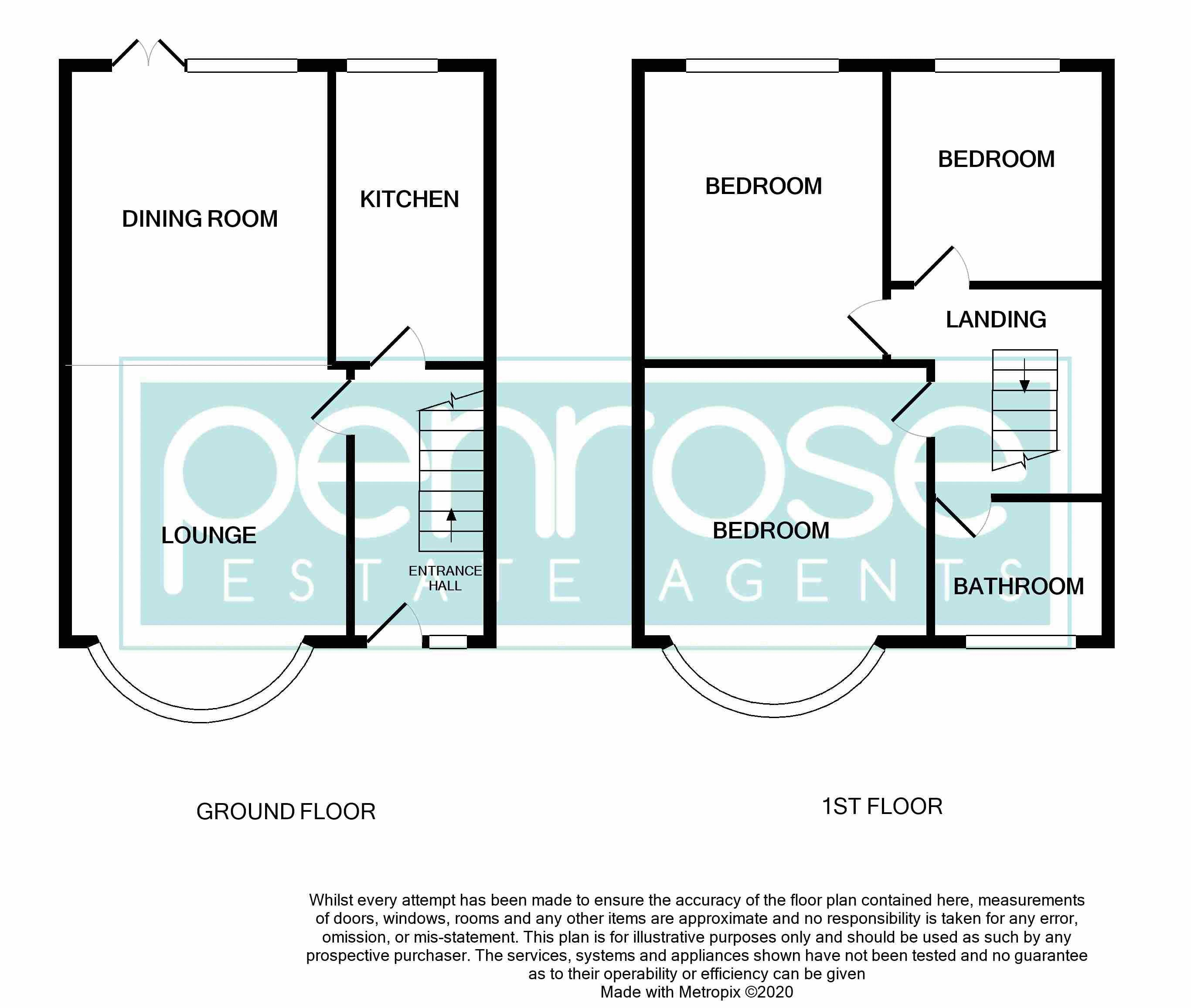 3 bedroom Mid Terrace to buy in Shelley Road, Luton Floorplan