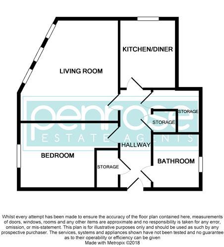 1 bedroom Flat to rent in Wellington Street, Luton
