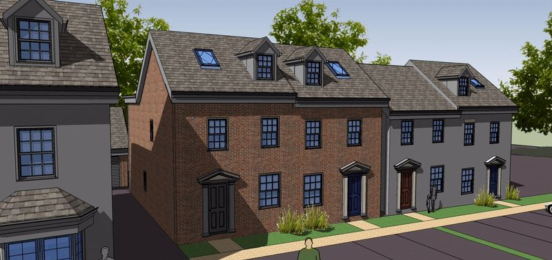 3 Bedrooms Property for sale in Plot 5, Rea View, Cleobury Mortimer, Shropshire