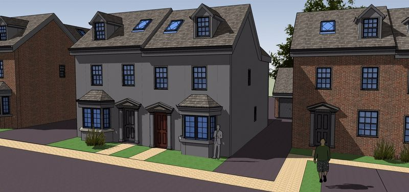 4 Bedrooms Property for sale in Plot 4, Rea View, Cleobury Mortimer, Shropshire
