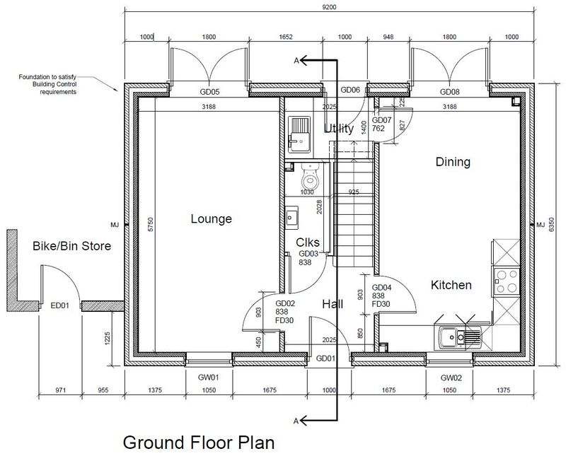 Downstairs Plan