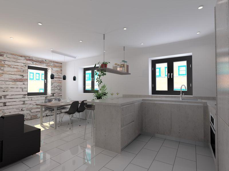 CAD open plan living 2
