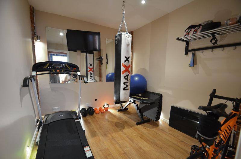 Gym (Converted Garage)