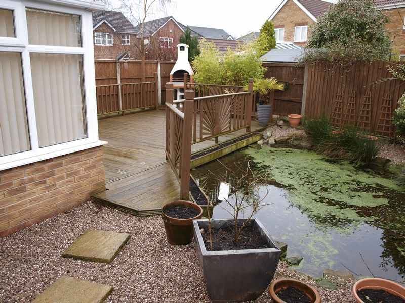 Decking & Pond