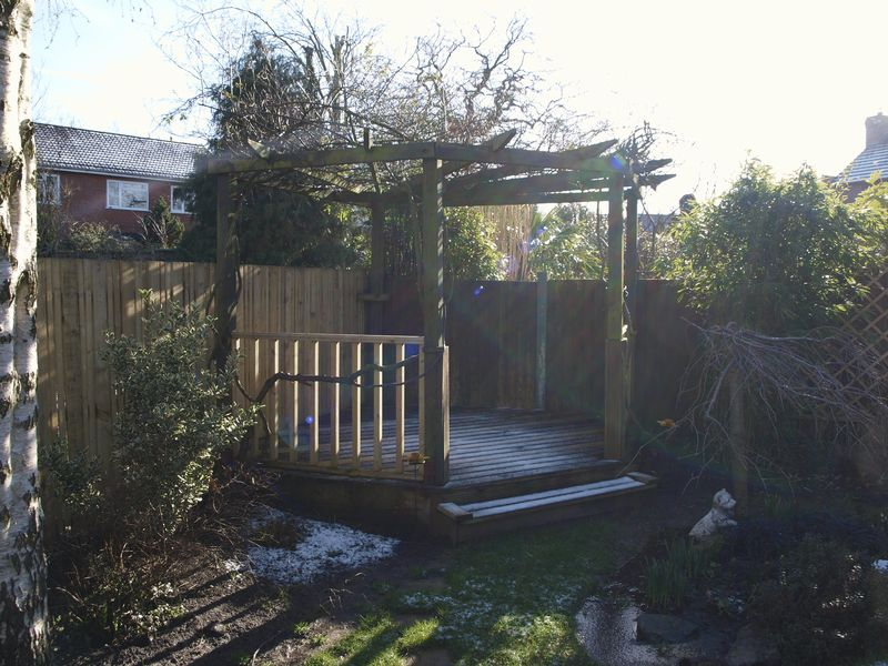 Timber Decked Patio