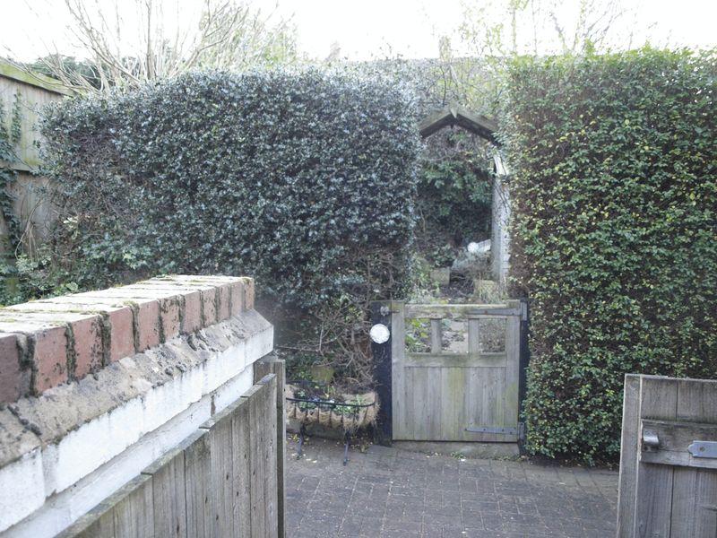Entrance To Rear Garden
