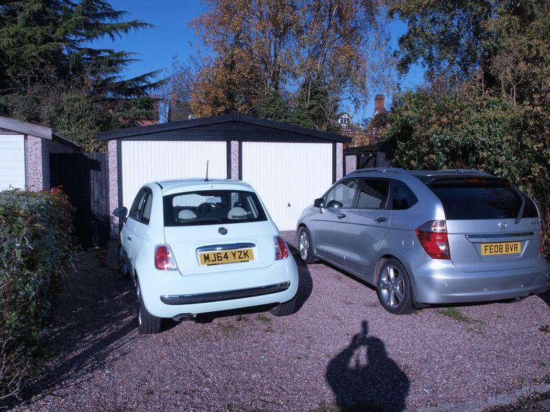 Double Garage & Parking