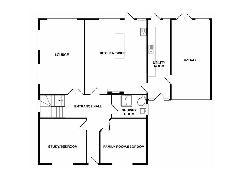 2D Floorplan Ground Floor