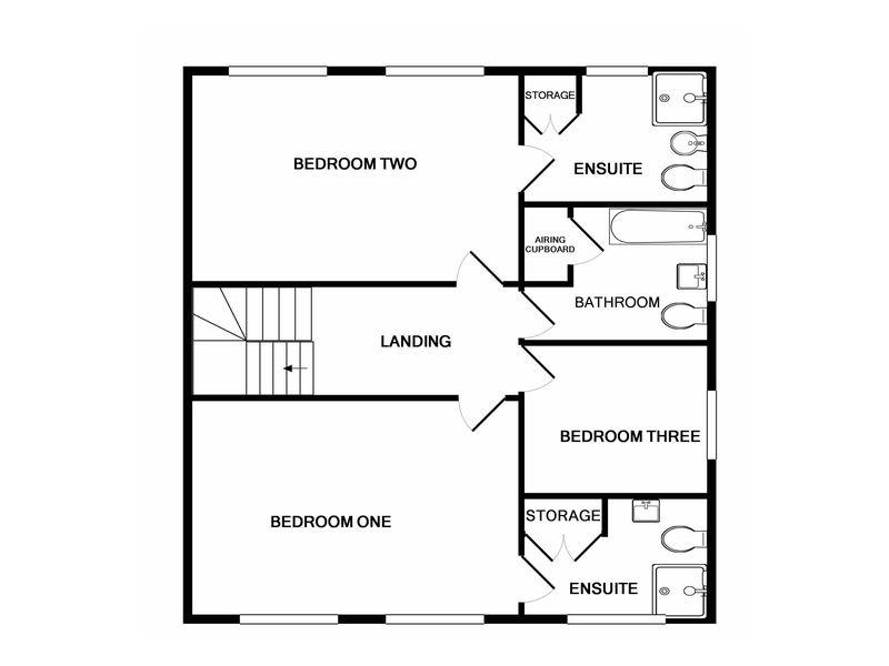 2D Floorplan First Floor