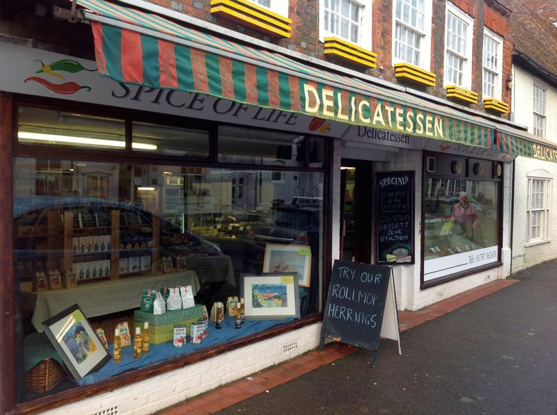 Delicatessen Business with fixtures and fittings in the centre of New Romney. For Sale - Main Picture