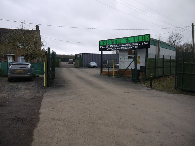 Self Storage Containers at Shadoxhurst - Main Picture