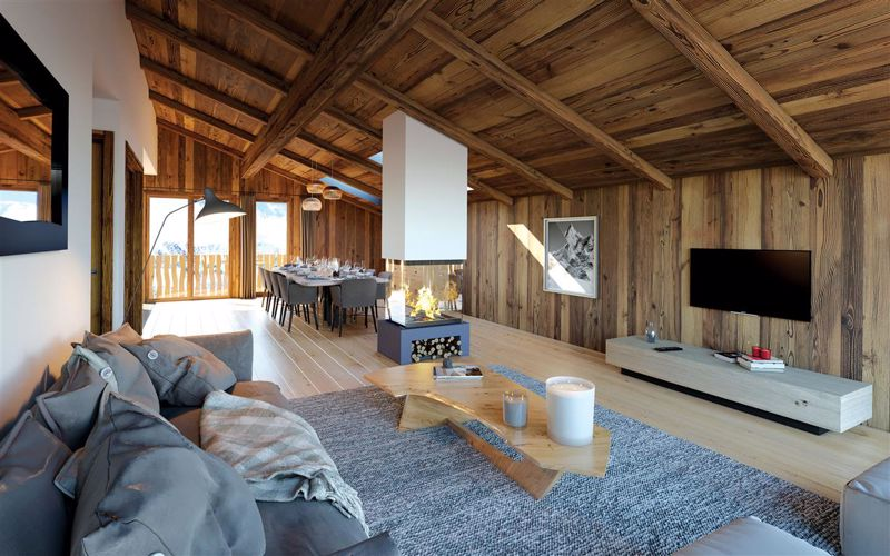 Serenity - 3 Bed  Accommodation in Chatel