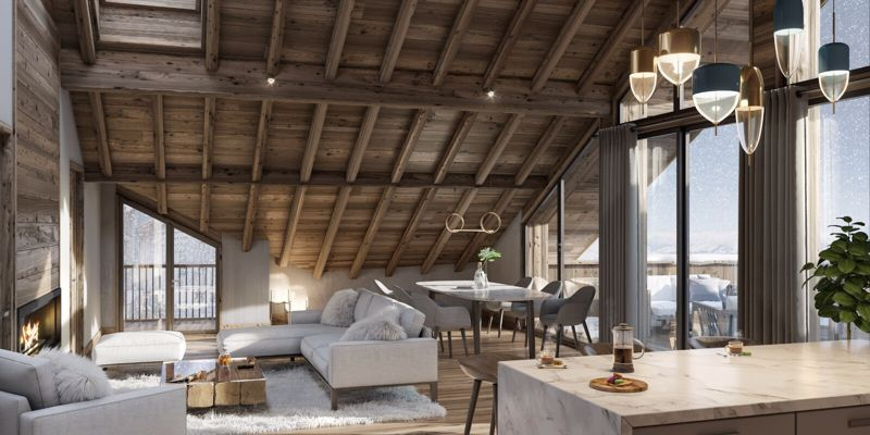 Lac Blanc - 1 Bed+cab Accommodation in Les Deux Alpes